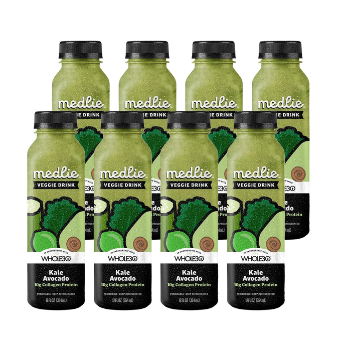 Medlie Kale Avocado with Collagen Protein Drinks (8 pack)