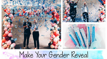 Make Your Gender Reveal Party a BLAST with Confetti Cannons