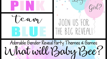Adorable Gender Reveal Party Themes & Games