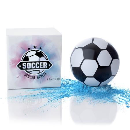 Planning on Raising a Soccer Star? Announce it to Friends at Your Gender Reveal Party