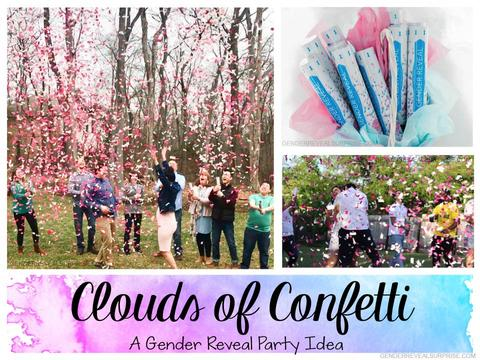 Gender Reveals are a Blast With the Help of Our Confetti and Streamer Cannons