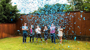 Gender Reveal Confetti Cannons Bring Excitement To Your Big Reveal