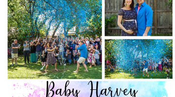 A Gender Reveal Story - Baby Harvey