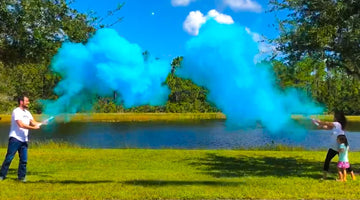 Planning The Most Fun Gender Reveal Party with Powder and Smoke