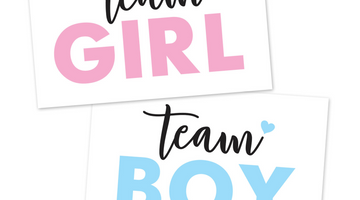 Team Pink vs Team Blue Gender Reveal Challenge