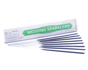 10 Inch Gold Wire Sparklers