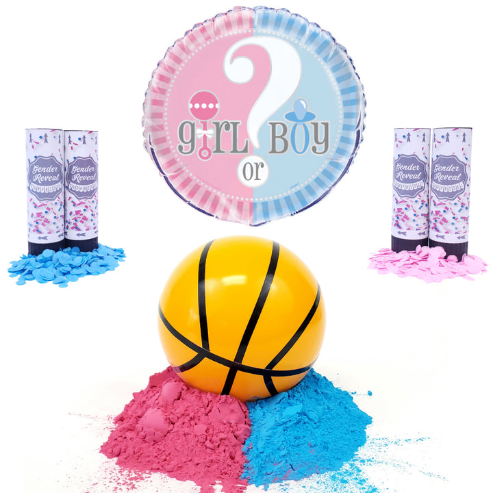 Gender Reveal Basketball Party Package