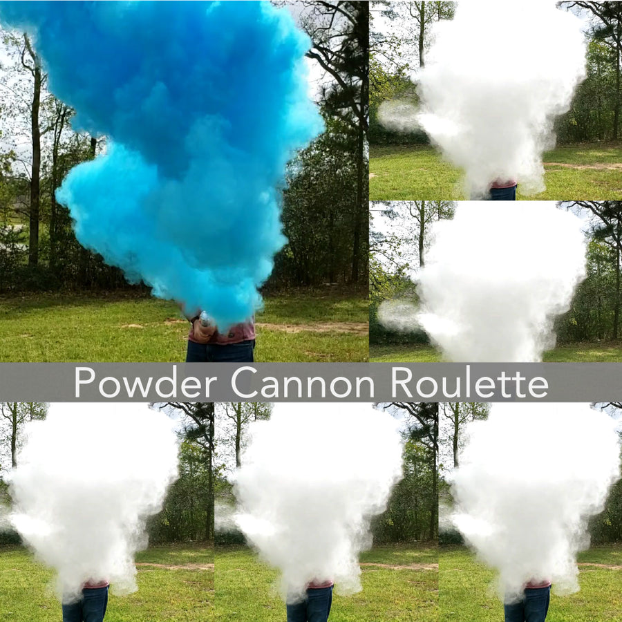 Gender Reveal Powder Cannon Roulette