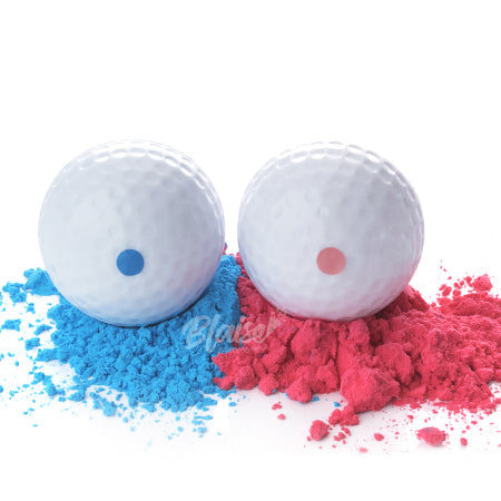 Make a hole in one when using our Gender Reveal Golf Ball Kit to announce whether you are expecting a boy or girl