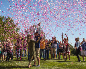 "18"" Pink Gender Reveal Confetti Cannon"