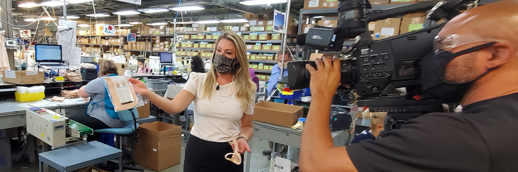 MARENA SHIFTS GEARS TO PRODUCE FACE MASKS AND SAVE JOBS