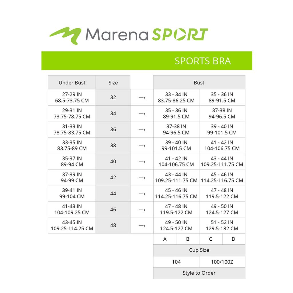 Sport-Women's-Sports-Bra-size chart
