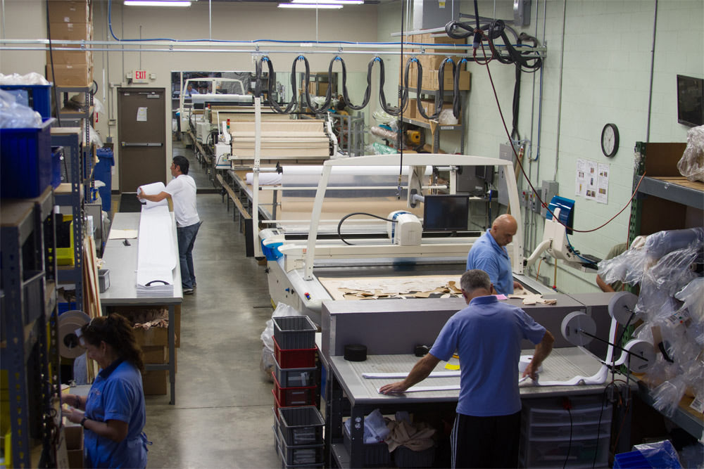 A look inside the Marena production facility