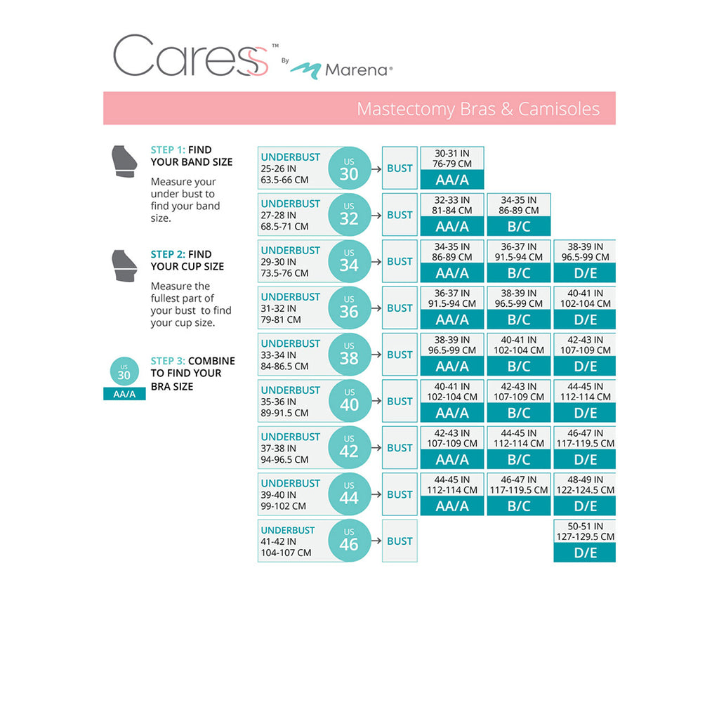 Caress Size Chart- CAR-BNRZ-01-10-11