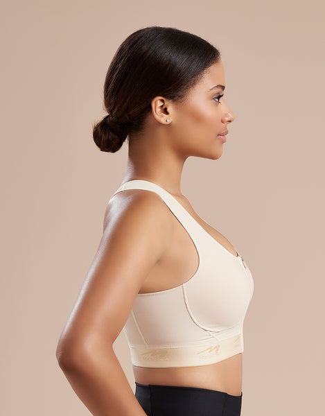 Marena Recovery 804ZP bra shown from the side.