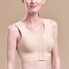 Caress by Marena High Coverage Pocketed Bra, front view, beige
