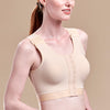Caress by Marena High Coverage Pocketed Bra, side view, beige