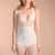 Marena Recovery FBA bikini-length compression girdle front view in beige.