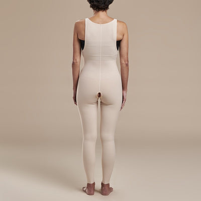 Marena Recovery, style FBL2 Girdle back view in beige
