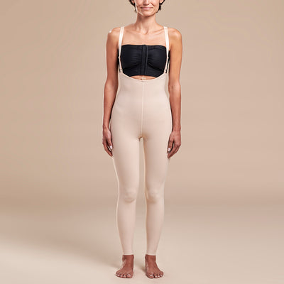 Marena Recovery, style FBL2 Girdle, front view in beige
