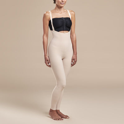 Marena Recovery style FBL2 Girdle, front pose view in beige
