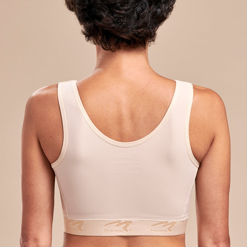 FlexFit™ Original Bra - Style No. B01G Front view, in beige