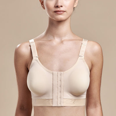 FlexFit™ Low Coverage Bra - Style No. B11 Front view, in beige