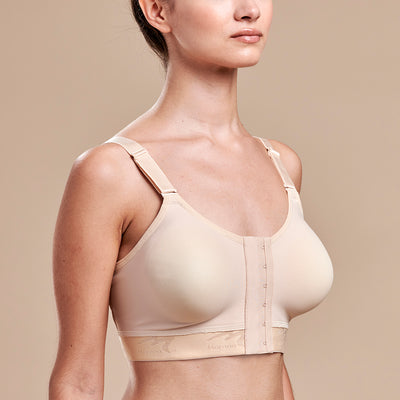 FlexFit™ Low Coverage Bra - Style No. B11 Side view, in beige