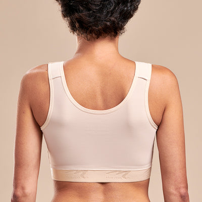 FlexFit™ Implant Stabilizer Bra - Style No. B15 Back view, in beige