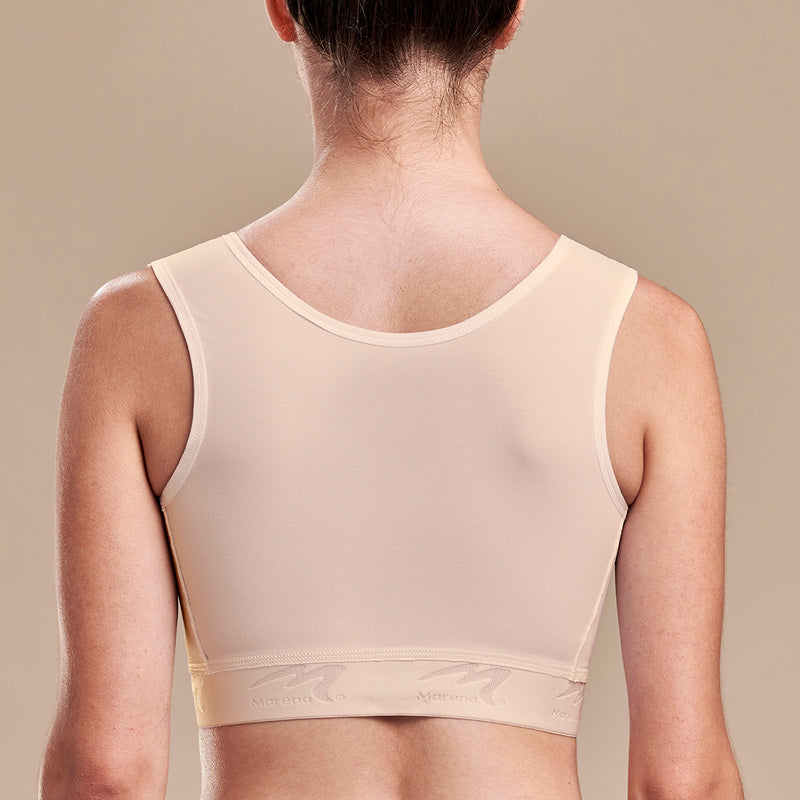 FlexFit™ Ultra-High Coverage Bra - Style No. B16, Side view in beige