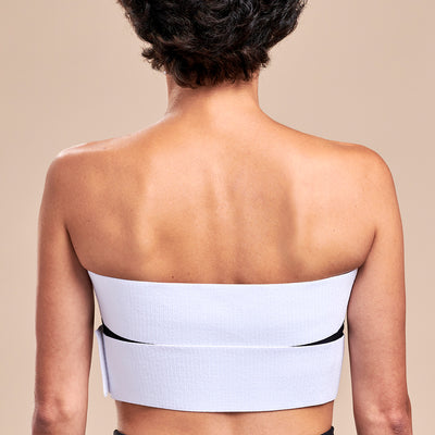 Marena Recovery, style ISB-X Implant stabilizer band kit, back view in white