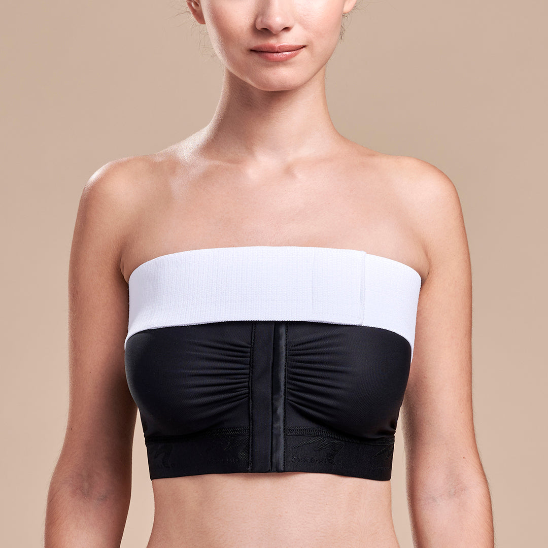 Marena Recovery, ISB Breast Wrap, White, Front pose