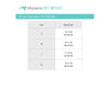Marena Recovery Unisex Face Masks Size Chart