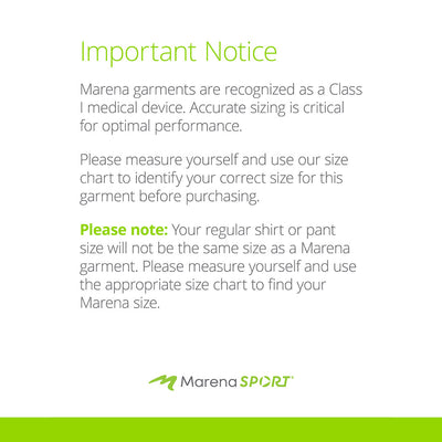 marena sport sizing disclaimer