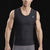Marena Sport 500 Compression Tank-top full front view, in black