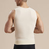 Marena Recovery UV-CP Drain bulb Management vest back view in beige