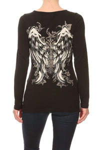 Tie Me Up Wing Long Sleeve