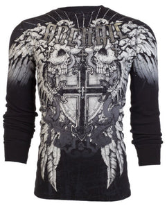 Killer Cross Affliction Mens Thermal