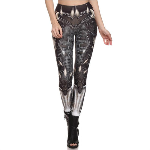 Armor Skull Leggings