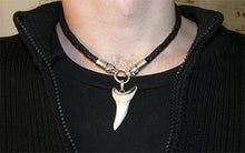 Leather Dragon Tooth Necklace