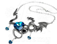 A Dragon's Passion Necklace