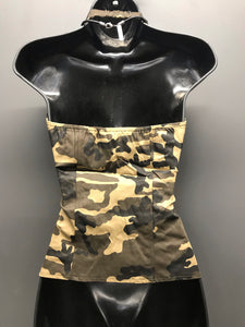 Stunner Camo Zippered Vest