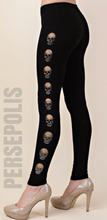 Midnight Skull Legging