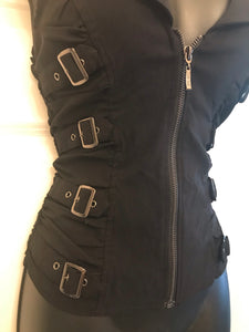 Buckle Up! Zippered Vest