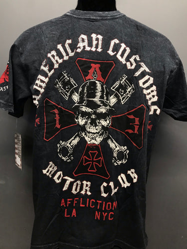 Hell on Wheels Affliction Tee