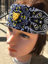 Navy Jaguar Bandana- SALE