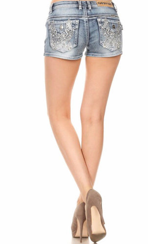 Rev Up! Denim Shorts