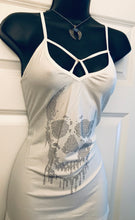 Melt with Me Skull Tank in Creme