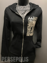 Saints & Sinners Zippered Hoodie