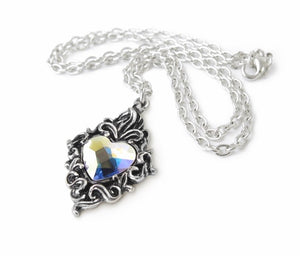 Heart of Crystal Necklace